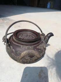 老紫砂壶一把,保存完好,包浆自然,能正常使用sx运费自理
