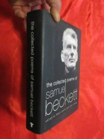 The Collected Poems of Samuel Beckett   (小16开,硬精装)   【详见图】