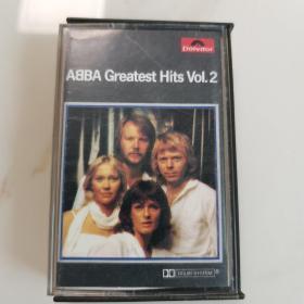 进口原版磁带ABBA  GREATEST HITS vol. 2