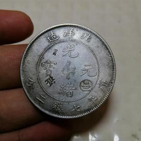北洋二十五年 光绪元宝 银元