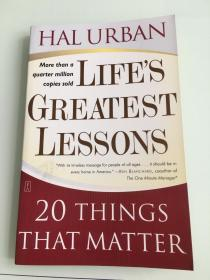Lifes Greatest Lessons: 20 Things That Matter