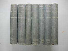 英文原版精装《Jespersen A Modern English Grammar》 现代英语语法 全7册