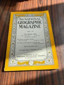 the national geographic magazine April 1949
