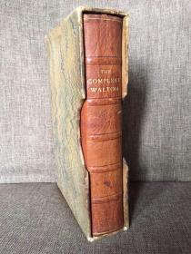 The Compleat Walton(《沃尔顿大全》,编号限印本,配插图,全真皮精装,毛边手工纸印制,Nonesuch出版社传世精品,好品相带书匣,1929年古董书)