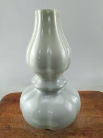 蓝釉葫芦老瓷瓶B0721.