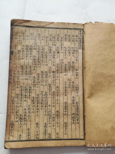 皇帝内经,针灸,灵枢十二卷完整一套全