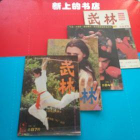 武林,1988年(7,9,11,12)期,1989年(,2,3,4,5,9,10)期+1990年(3,9)期