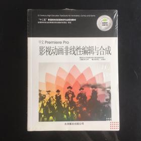 全新未拆封 中文Premiere Pro影视动画非线性编辑与合成 附1DVD