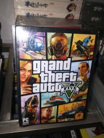 PC盒装正版电脑游戏光盘 GTA5 侠盗猎车手5 可联机玩 全球版R星平台 游戏繁体中文版  全新未拆封