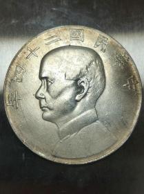 低价秒杀老银元 原光中华民国二十四年船洋