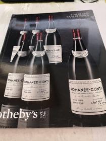sothebys FINEST AND RAREST WINES 2016