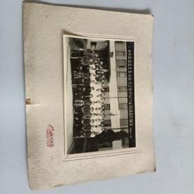 上海宝山县卫生学校附设进修班修业期满摄影留念1962年