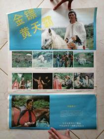 电影海报----金镖黄天霸(对开)