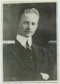 民国1928年美国驻山东济南府总领事Ernest B.Price肖像