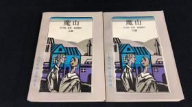 【钱鸿嘉签名本,非馆藏 罕见品相】二十世纪外国文学丛书——魔山(全上下两册)