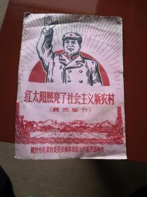 红太阳照亮了社会主义新农村(展览简介)