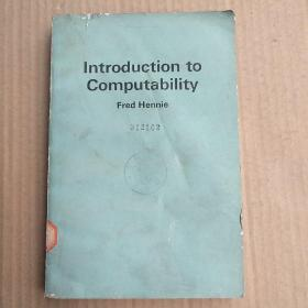 introduction to computability(P3321)