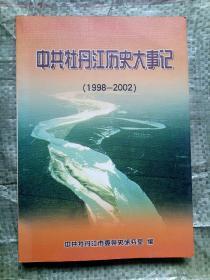 中共牡丹江历史大事记(1998-2002)