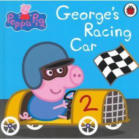 Peppa Pig: George's Racing Car [Boardbook]小猪佩奇卡板故事书:赛车