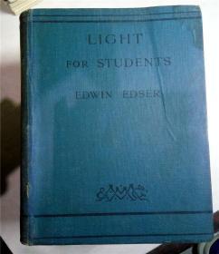 LIGHT FOR STUDENTS/光学书籍 英文原版