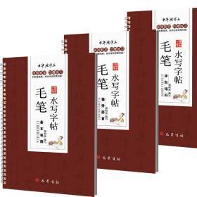 毛笔水写字帖(套装全3册)