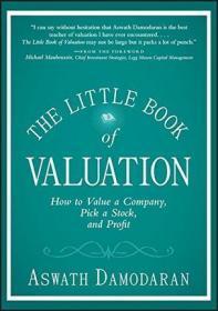 英文原版 学会估值,轻松投资:如何评估一家公司、选股并盈利 威利 The Little Book Of Valuation: How To Value A Company