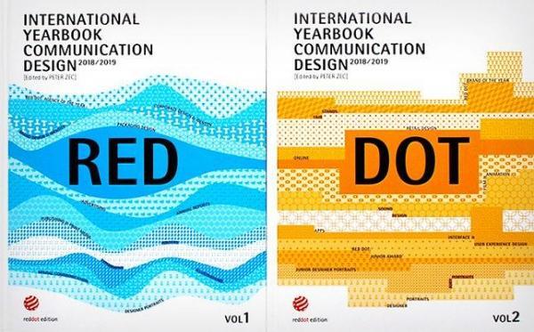 International Yearbook Communication Design 2018/2019:德国红点设计奖视觉传达交互设计奖平面设计年鉴