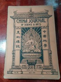 中国科学美术杂志(1925年No5)外文