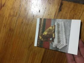 58年明信片,故宫,承光门内铜象