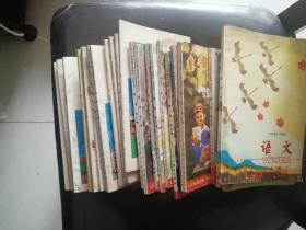 六年制小学语文课本 数学课本 共24册