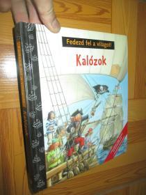 Fedezd fel a vilagot:Kalozok  (实物图片)     16开,精装
