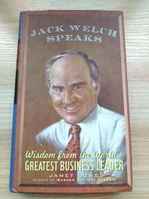 Jack Welch Speaks: Wisdom from the Worlds Greatest Business Leader Hardcover – Mar 9 1998 by Janet Lowe (Author)