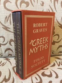Greek myths by Robert Graves 《希腊神话》罗伯特·格拉夫斯 Folio society 精装带盒两卷本