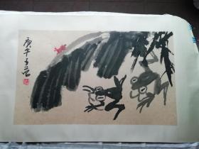 崔子范大写意花鸟画