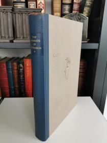 The sonnets of Petrarch 《彼得拉克十四行诗》英意双语对照版, limited editions club 1965年精装版 1500本限量版 编号 902