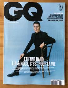 GQ 绅士法国版 2019年12月/2020年1月 三个封面 法语学习 法国男士时尚生活期刊
