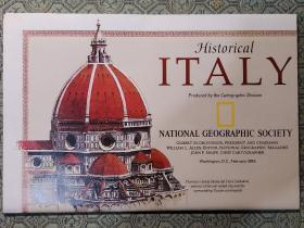 National Geographic国家地理杂志地图系列之1995年2月 Italy 意大利地图