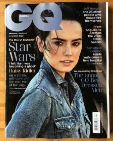 GQ 绅士英国版 2020年1月  英国男士时尚生活期刊