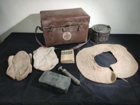 华北军区医疗器械一组 古玩古董红色博物馆真品收藏