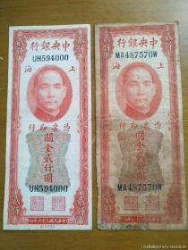 红关金美钞版