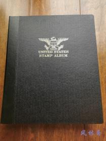 美国邮票 1973-1992年 80余页五百枚以上 小型张 整版等数十枚 附高级定位册