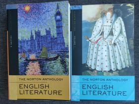 The Norton Anthology of English Literature(8th Edition)全套两卷本 现货