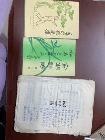 袁虹做湖畔吟原稿及出版物