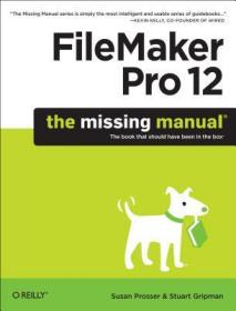FileMakerPro12:TheMissingManual