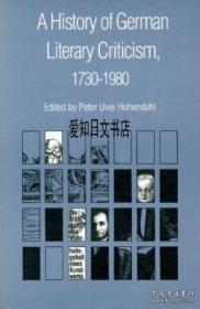 【包邮】A History Of German Literary Criticism, 1730-1980;1988年出版