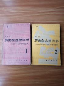 历史在这里沉思一一1966-1976(1、2、3册三本合售)