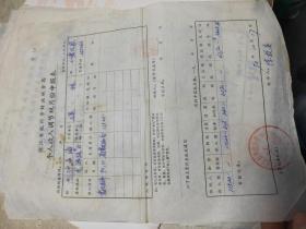 沙孟海个人收入调节税月份申报表