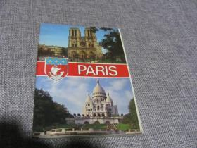paris 明信片