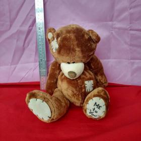 棕色小熊毛公仔毛绒玩具公仔儿童生节日礼物泰迪熊公仔布娃娃