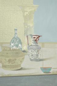 版画家 姜立杰2012年丝网版画《青花呓语II》一幅(尺寸:60*40cm,版号随机,供货编号为:10-80/90,作品直接得自于艺术家本人!) HXTX117453
